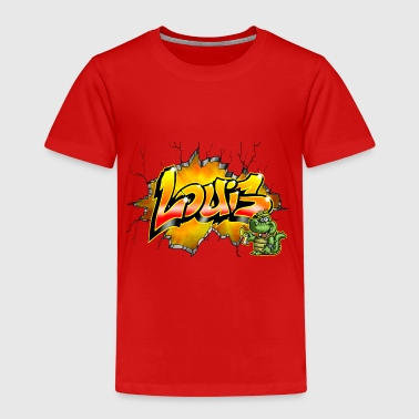 Louis Graffiti - Kinder Premium T-Shirt