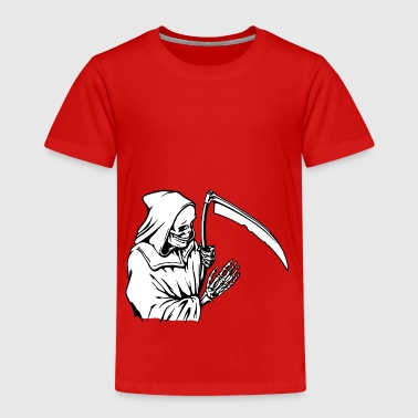 Dead with scythe - Kids' Premium T-Shirt