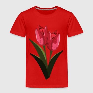 tulipaner - Premium T-skjorte for barn