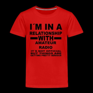 Relationship with AMATEUR RADIO - Kids' Premium T-Shirt