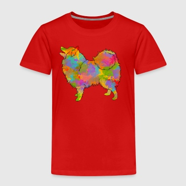 Japanese Spitz Multicolored - Kids' Premium T-Shirt