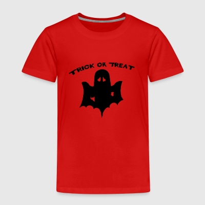 trick or treat Halloween trick or Surt - Premium T-skjorte for barn