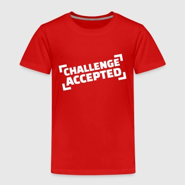 Challenge accepted - Kinder Premium T-Shirt