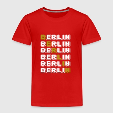 Berlin white - Kids' Premium T-Shirt