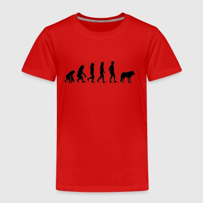 Werwolf / Halloween: Evolution - Affe - Neandertal - Kinder Premium T-Shirt