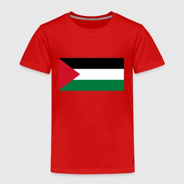 National Flag of Palestine - Premium-T-shirt barn