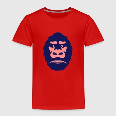 gorille tete animal sauvage 310 - T-shirt Premium Enfant