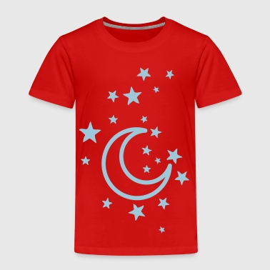 moon and stars - Kids' Premium T-Shirt