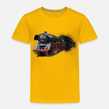 Steam locomotion - Kids' Premium T-Shirt