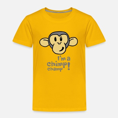 Chimp Kids I'm A Chimp Champ T-Shirt - Kids' Premium T-Shirt