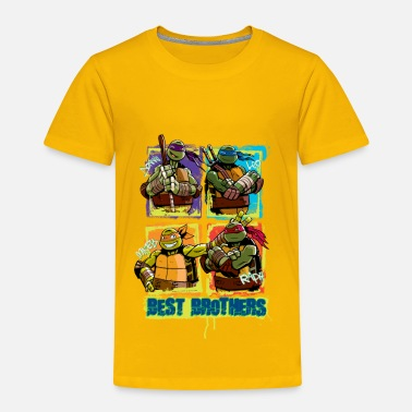 Officialbrands Kids Premium Shirt TURTLES 'Best Brothers' - Maglietta Premium per bambini