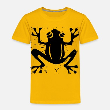 Lino Cut Crafty Wotnots Tree Frog - Kids' Premium T-Shirt