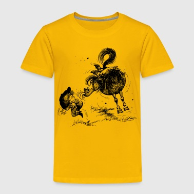 Thelwell Thelwell 'Pony sticks out his tounge. - Kids' Premium T-Shirt