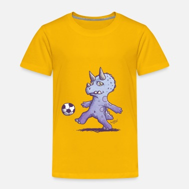 Dino Dino football - Kids' Premium T-Shirt