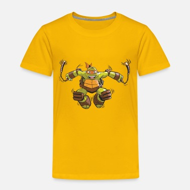 TMNT Turtles Michelangelo Ready For Action - Kinderen premium T-shirt