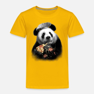 Pizza PANDA PIZZA - Kids' Premium T-Shirt
