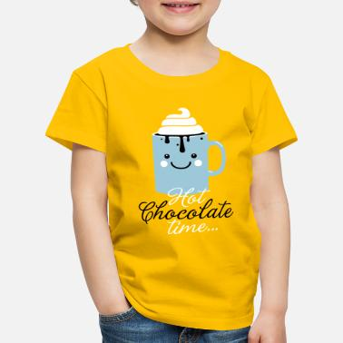 c2aeb61d Men's T-Shirt. Christmas Cookie Time. from £16.24. Christmas Funny cute mug  with i love hot chocolate with sweet cream time slogan in cold