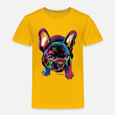 PD Moreno Colorful Dog - Kids' Premium T-Shirt