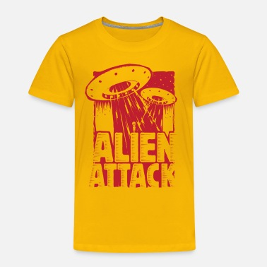 Alien Attack - Kinder Premium T-Shirt