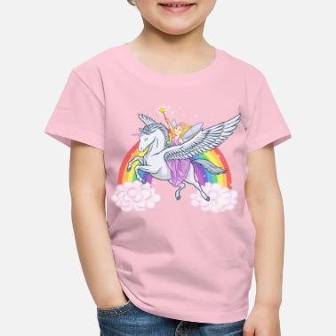 5ed7a43950756 Licorne Fairy Girl - T-shirt premium Enfant