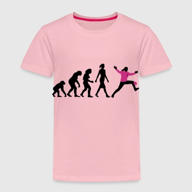 Evolution Handball Torhueterin - Kinder Premium T-Shirt