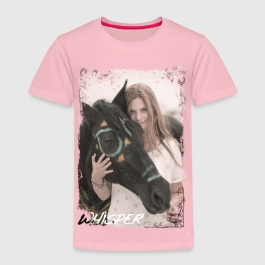 Whisper 3 Équitation Mika Et Cheval Photo - T-shirt Premium Enfant