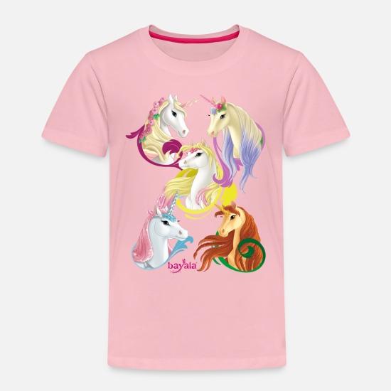 2dfc64c3 Schleich bayala Unicorns and Pegasus horses Kids' Premium T-Shirt ...