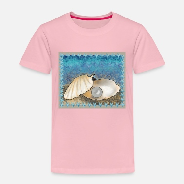 Pearl Shell with pearl - Kids' Premium T-Shirt