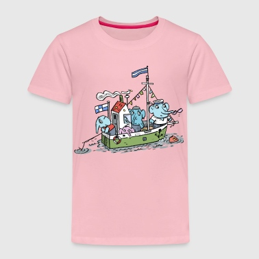 Elefant / kidscontest - Kinder Premium T-Shirt