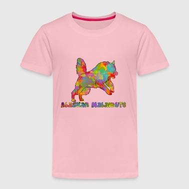 Alaskan Malamute Multicolored - Kids' Premium T-Shirt