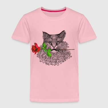 Romantic Cat - Kids' Premium T-Shirt