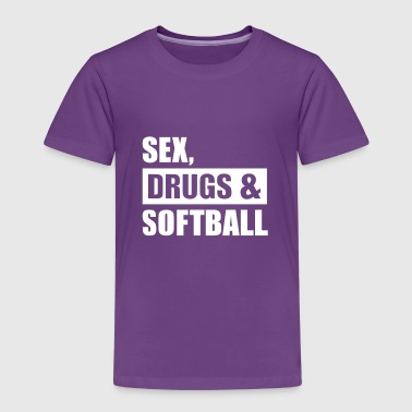 Softball - Kinder Premium T-Shirt