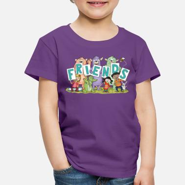 friends  - Kinder Premium T-Shirt