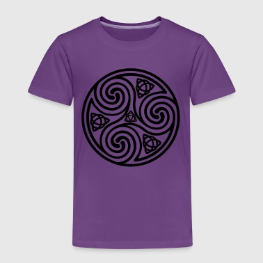 Celtic Triple Spiral - Kids' Premium T-Shirt