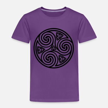 Triple Spiral Celtic Triple Spiral - Kids' Premium T-Shirt