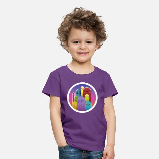 Circle T-Shirts - ATMOgroup - Kids' Premium T-Shirt purple