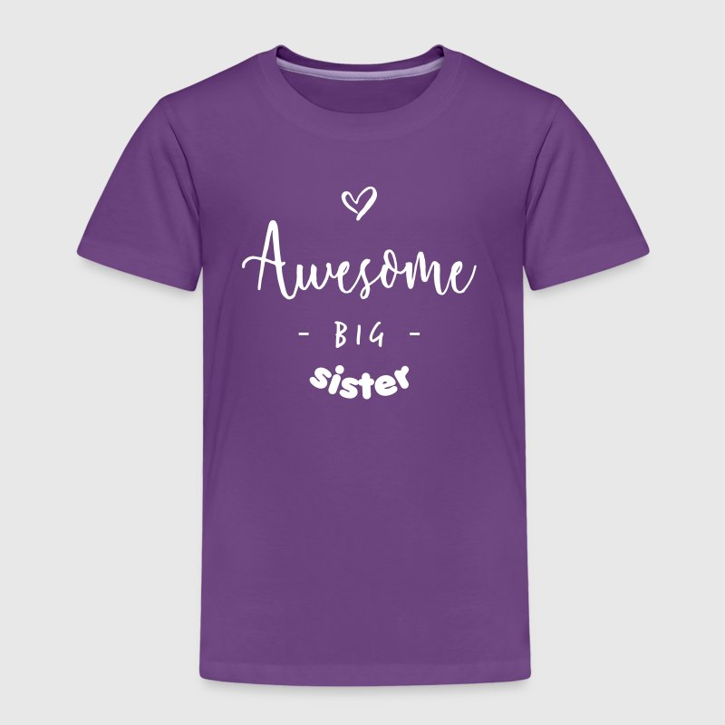 Awesome BIG Sister - Kinderen Premium T-shirt