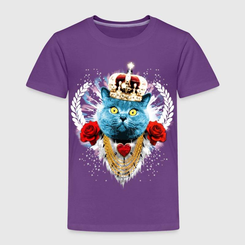 blue cat the king katze krone rosen lorbeer von scharfe. Black Bedroom Furniture Sets. Home Design Ideas