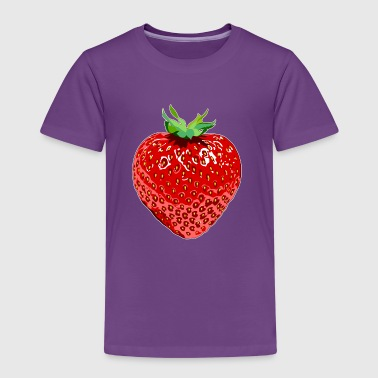 Erdbeere Strawberry - Kinderen Premium T-shirt