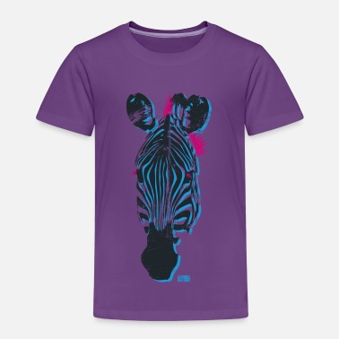 Zebra Animal Planet Zebra - Kinder Premium T-Shirt