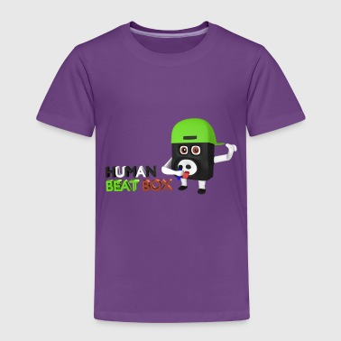 Human beat box  - Kids' Premium T-Shirt
