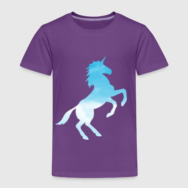 Cloudy Unicorn - Kids' Premium T-Shirt