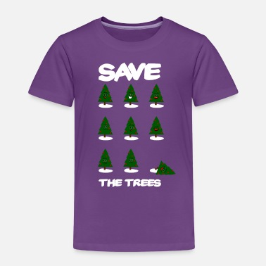 Save The ChristmasTrees - Kinderen premium T-shirt