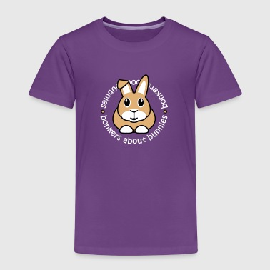 Bonkers About Bunnies - Kids' Premium T-Shirt