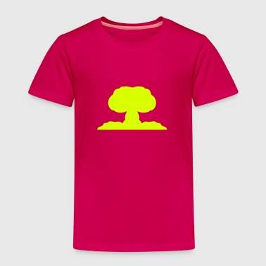 Atomic nuclear explosion icon 21706 - Kids' Premium T-Shirt
