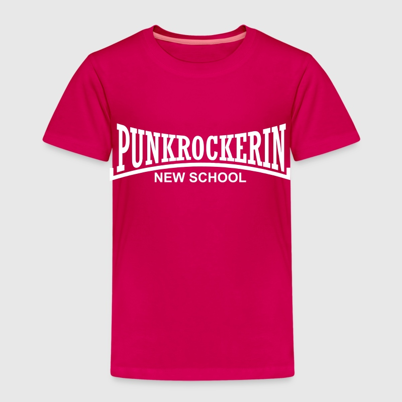 punkrockerin new school - Kinder Premium T-Shirt