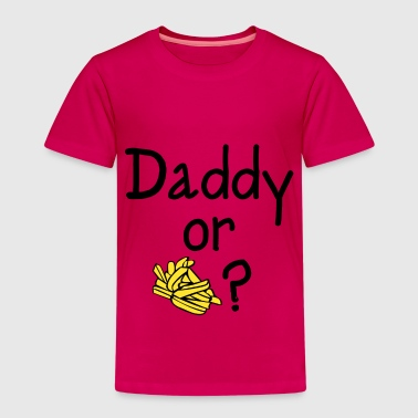 Daddy or Chips? - Kids' Premium T-Shirt