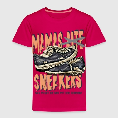 mamas sneakers sohn tochter kind mutti mama - Kinder Premium T-Shirt