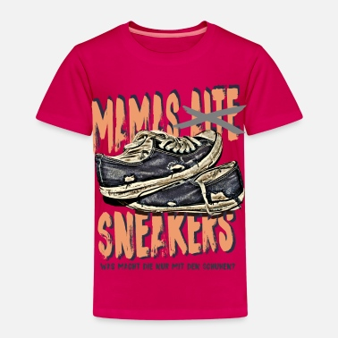 Mutti mamas sneakers sohn tochter kind mutti mama - Kinder Premium T-Shirt