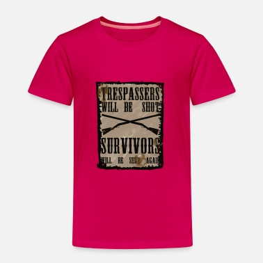 Hillbilly Trespasser will be Shot - Kids' Premium T-Shirt